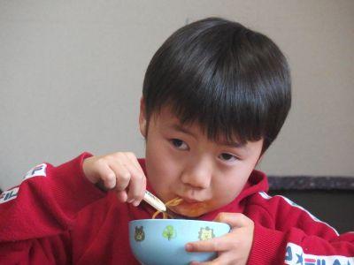 ひとりで食べる